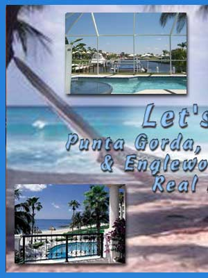 Punta Gorda, Port Charlotte, Englewood, North Port, Florida real estate listings, property, land for sale and home listings.